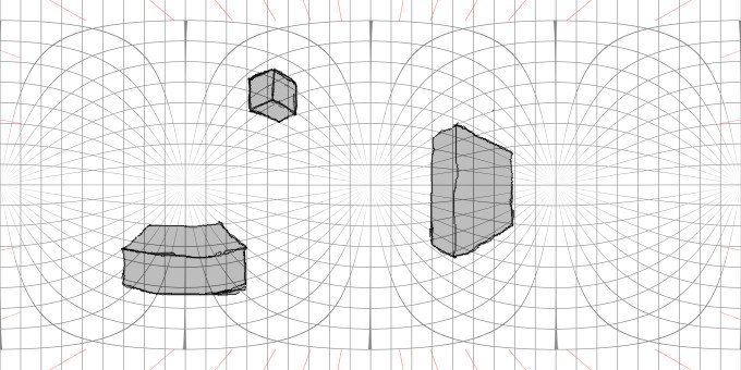 Drawing a Spherical Panorama – D  M  Swart